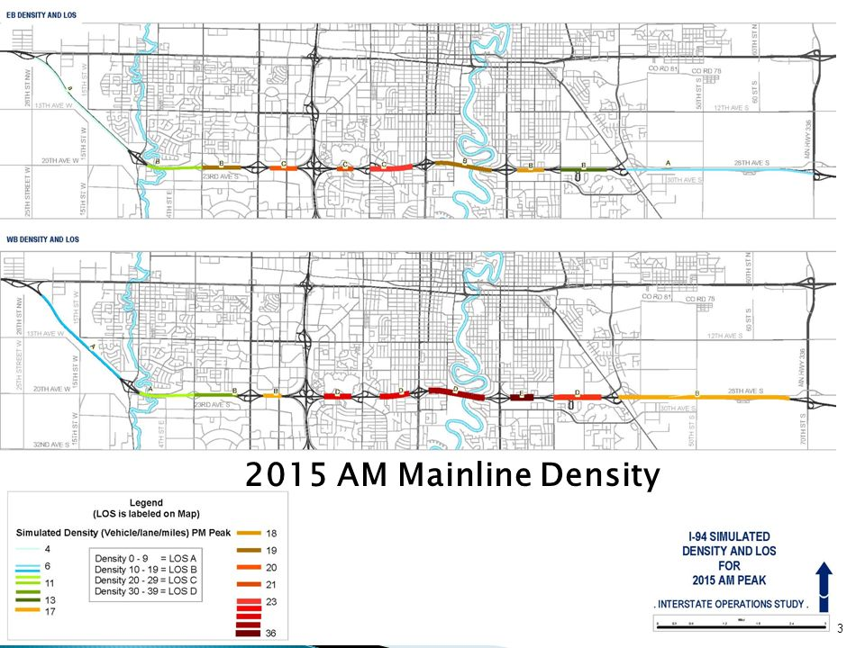 Output for Interstate Simulation: Output for Interstate Interstate Operations Study 2015 AM Mainline Density