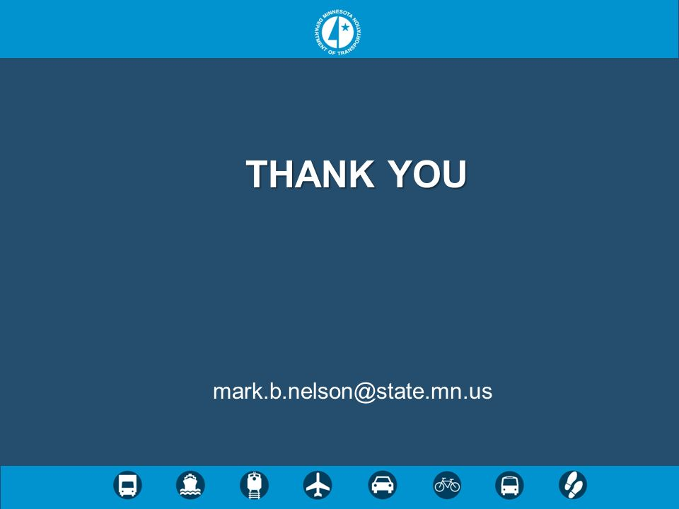THANK YOU mark.b.nelson@state.mn.us