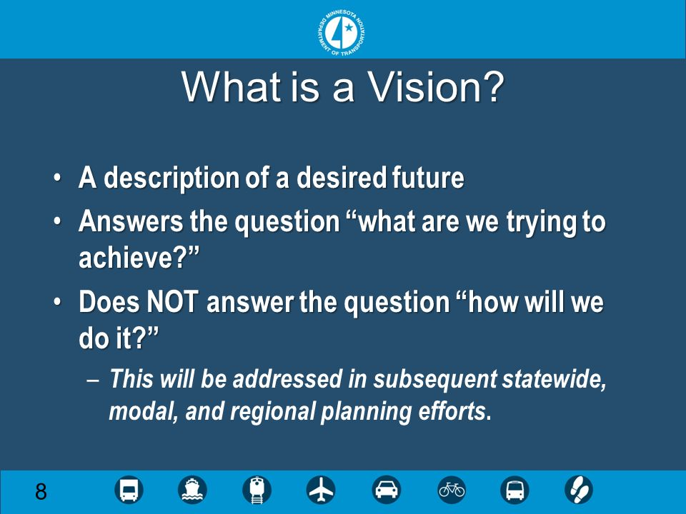 What is a Vision.