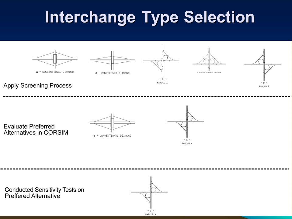 Interchange Type Selection