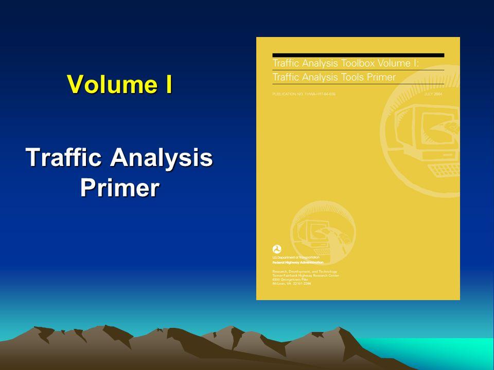 Volume I Traffic Analysis Primer