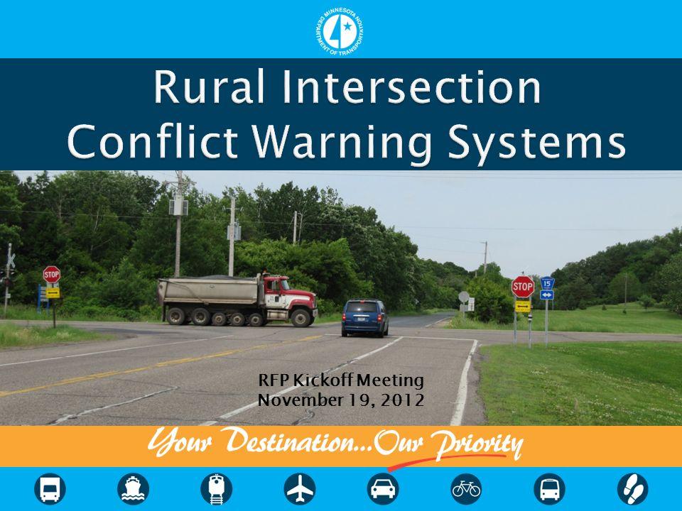 RFP Kickoff Meeting November 19, 2012