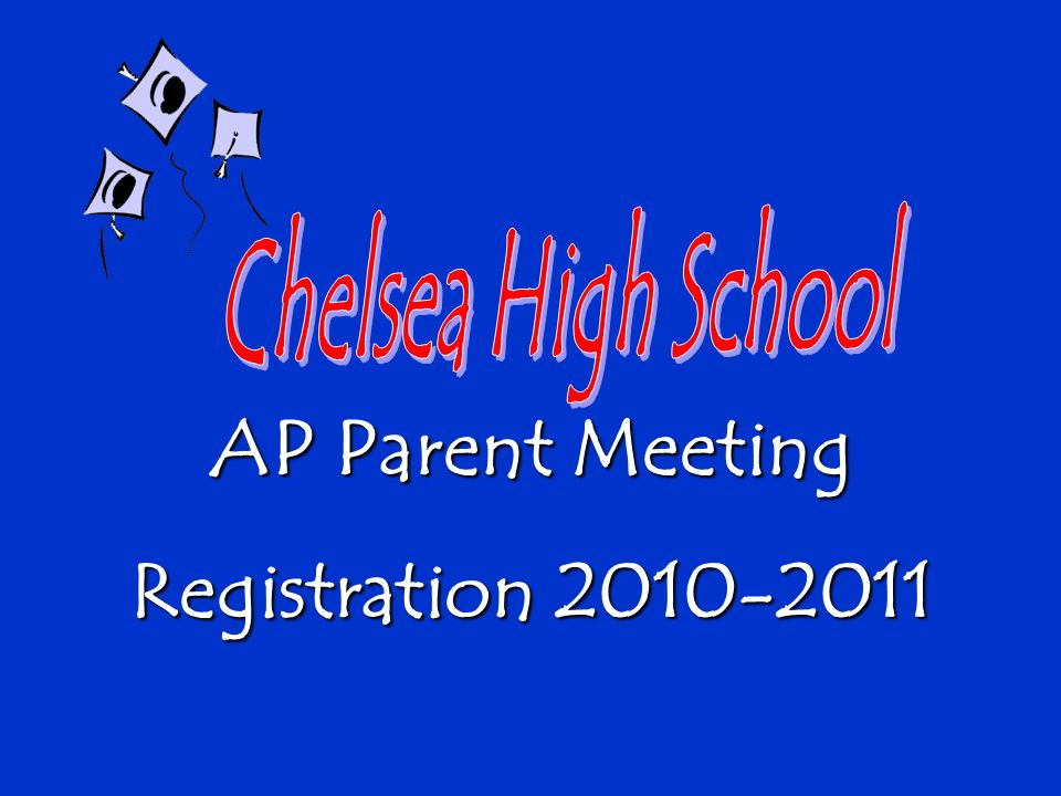 AP Parent Meeting Registration 2010-2011