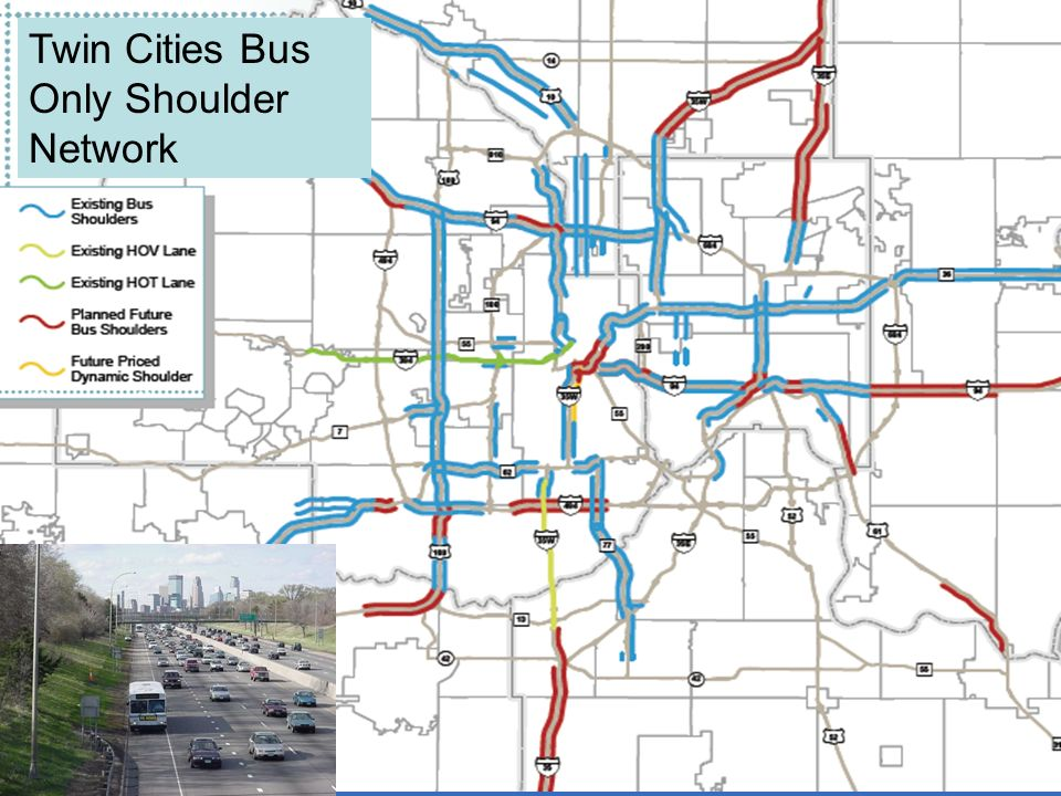 22 Twin Cities Bus Only Shoulder Network