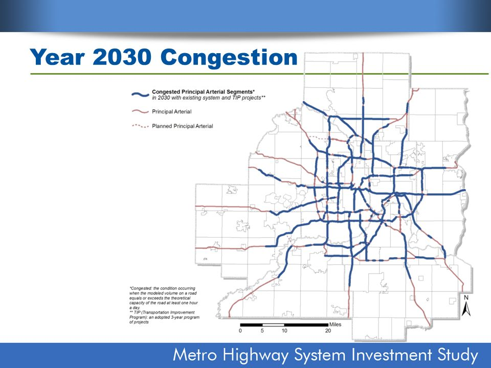 Funding constraints Adding capacity to fully eliminate congestion would cost more than $40 billion over next 20 years If used alone, state gas tax would need more than $2 per gallon increase