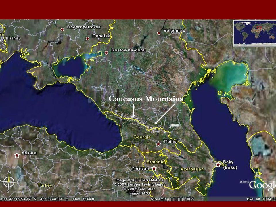 Russia Kazakhstan Turkmenistan Iran Azerbaijan Caucasus Mountains