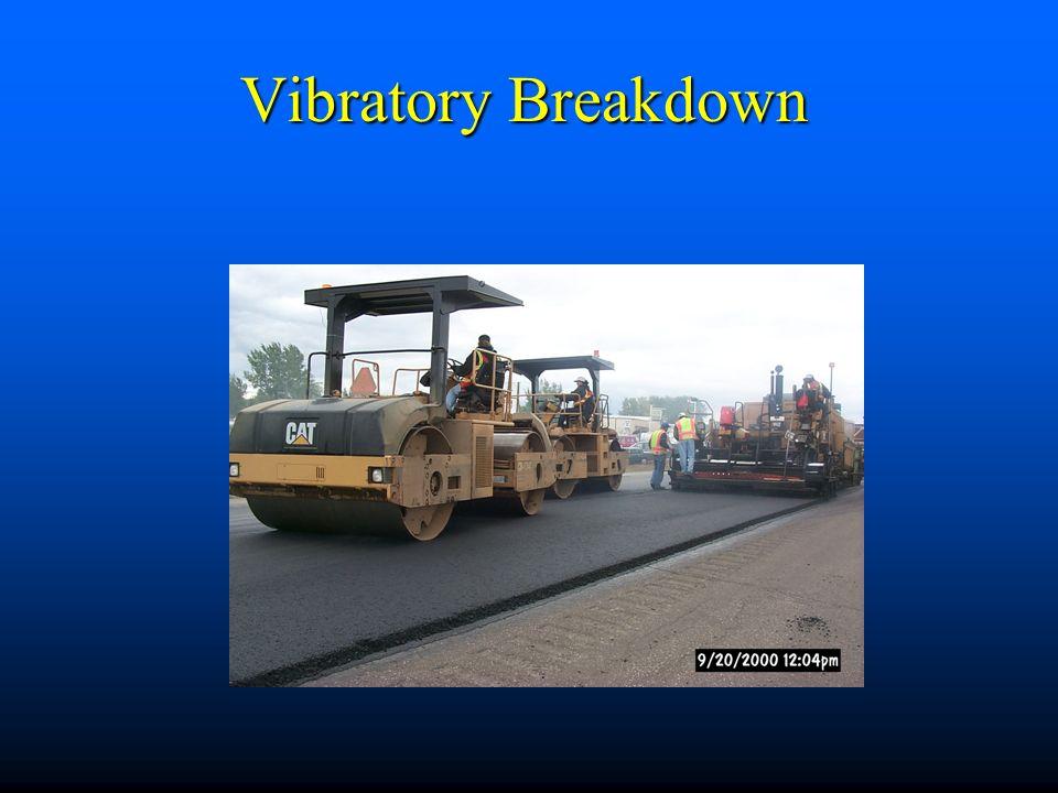 Vibratory Breakdown