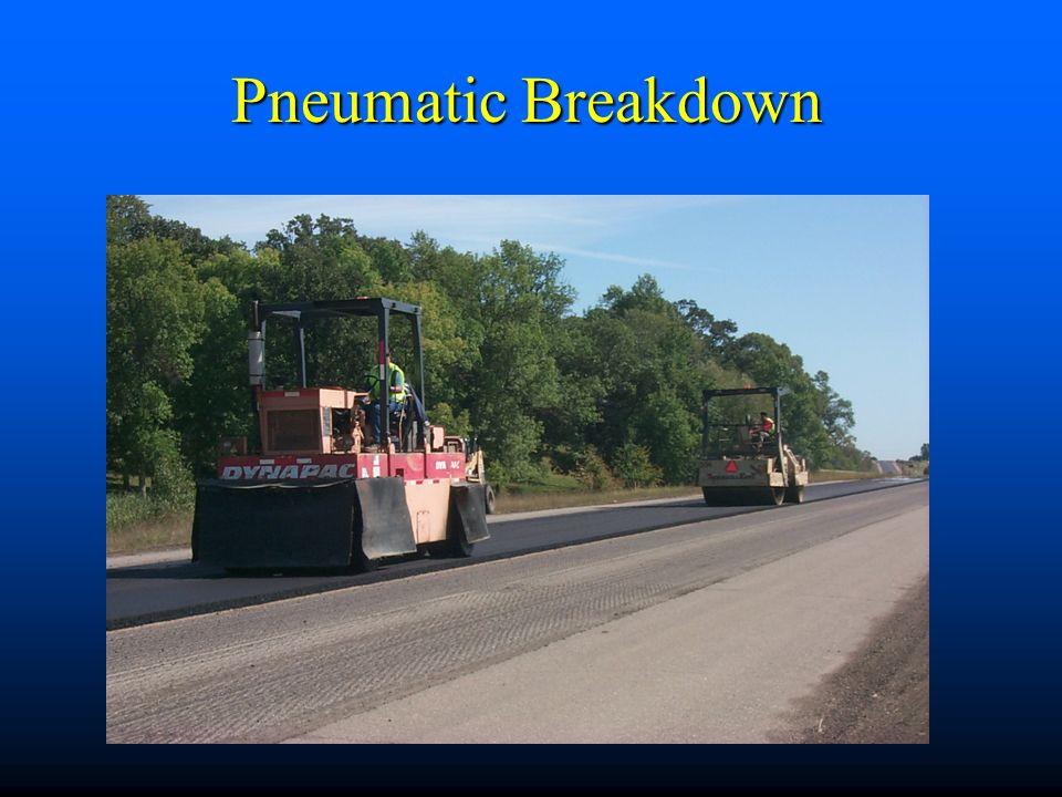 Pneumatic Breakdown