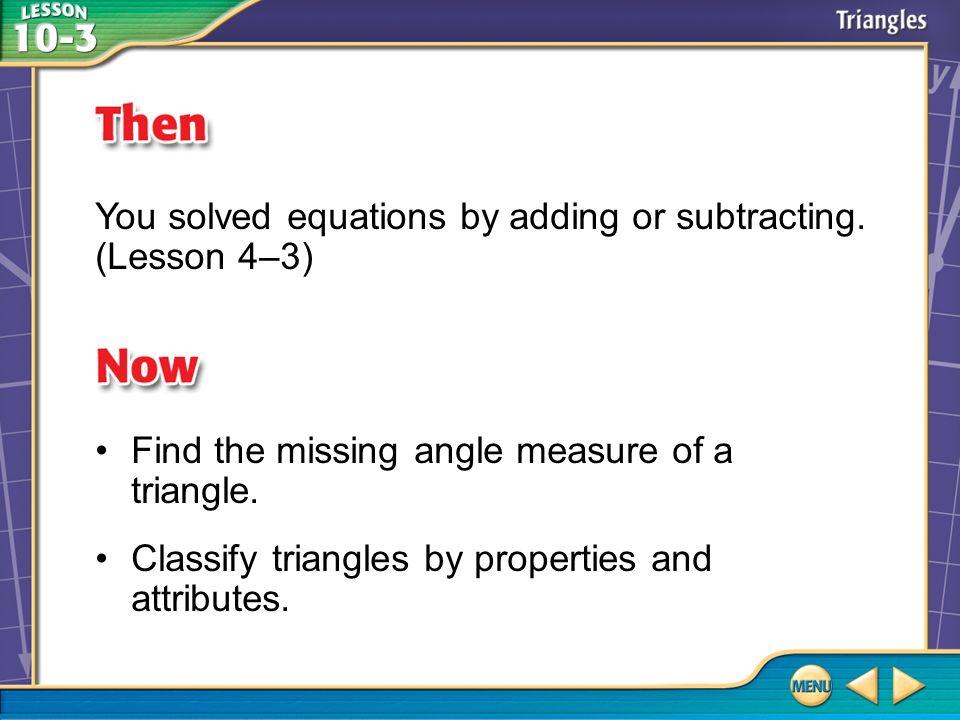Vocabulary line segment triangle vertex congruent