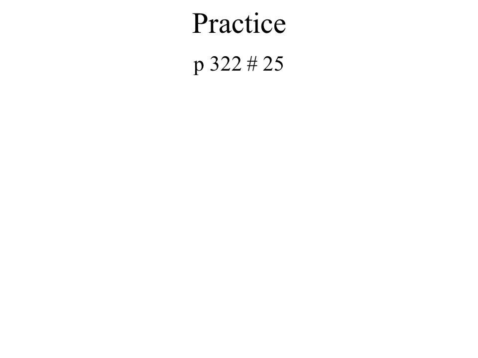 Book Practice P 312 # 4