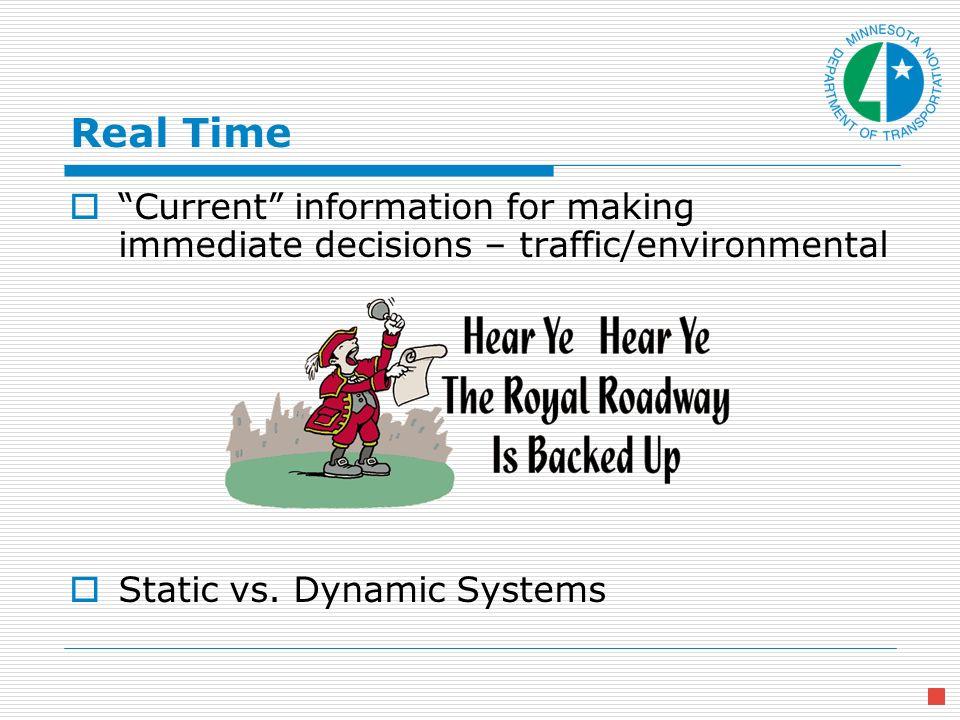 Terminology Dynamic vs.Changeable vs. Variable . Speed Advisory vs.