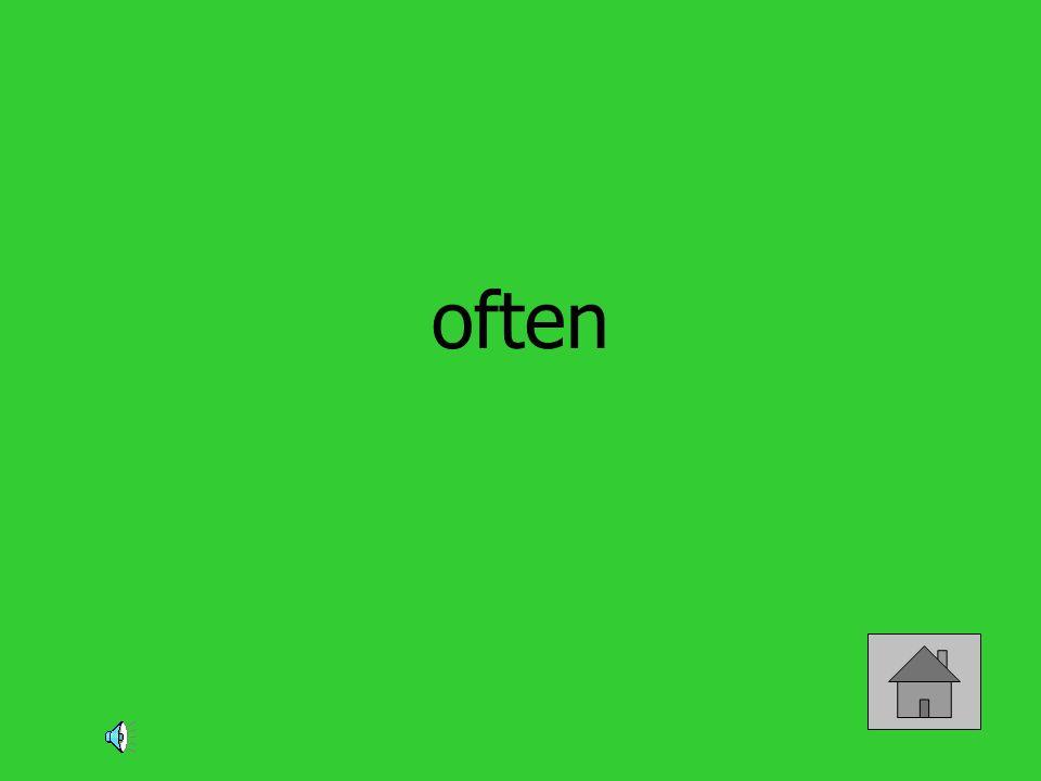 often
