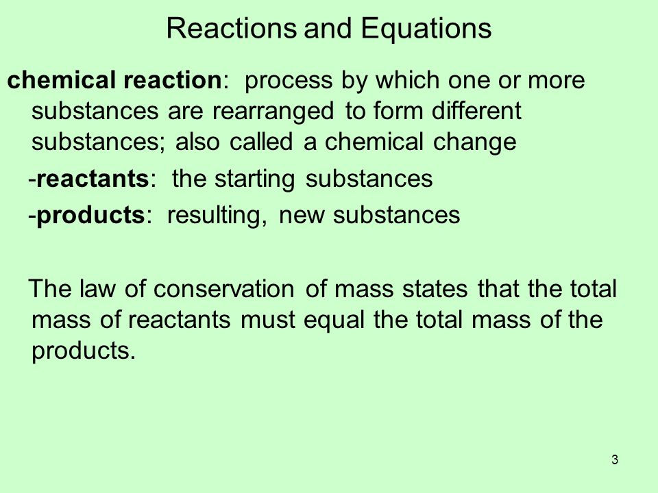 Evidence of Chemical Reactions While some reactions are hard to detect, most provide evidence they have occurred.