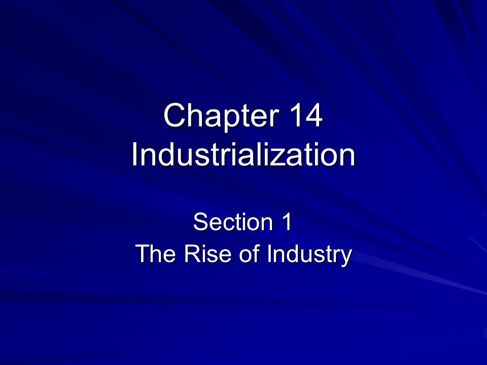 Causes of Industrialization Natural Resources/ Raw Materials –Water, Timber, Coal, Iron, Copper, Oil –Edwin Drake-Penn.