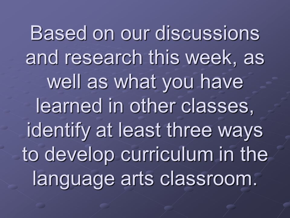 Essential Questions Themes and essential questions help to frame student inquiry and promote critical thinking.