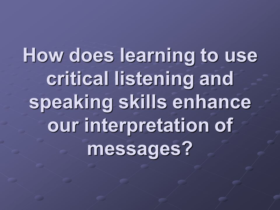 How does using efficient language increase our ability to speak effectively?