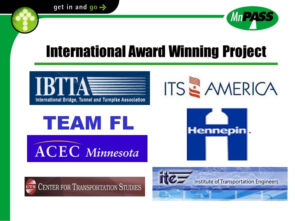 International Award Winning Project TEAM FL