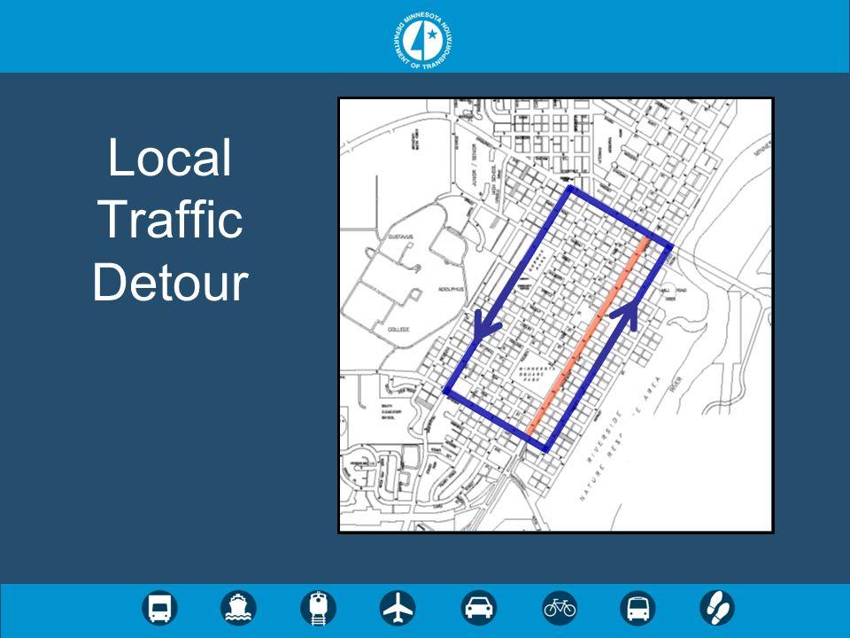 Local Traffic Detour