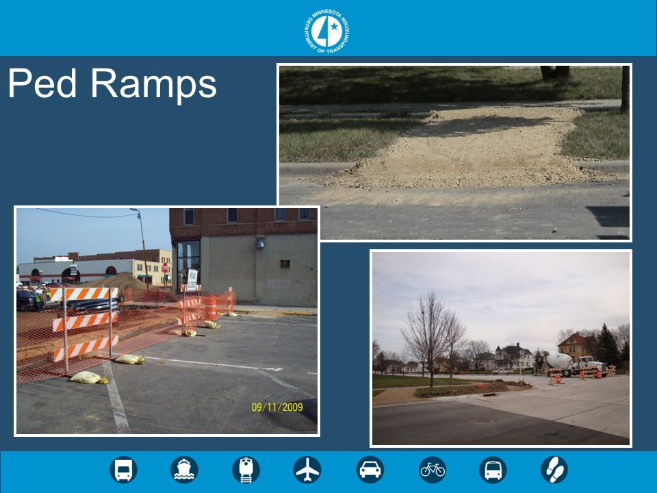 Ped Ramps