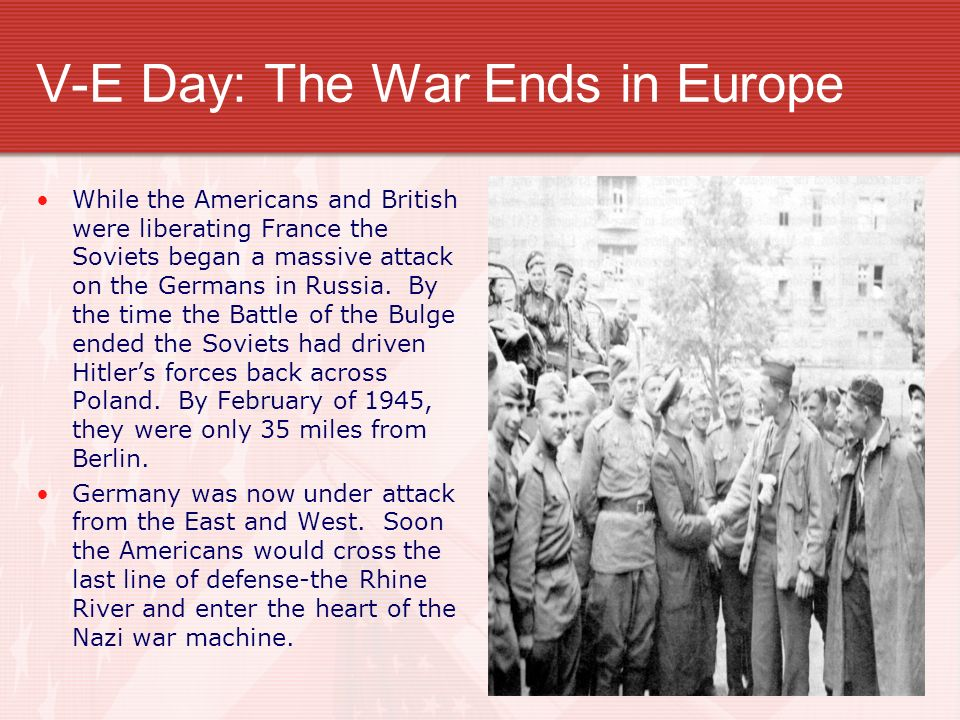 The Death of Hitler (?) As German defenses crumbled-Americans closed in on Berlin.