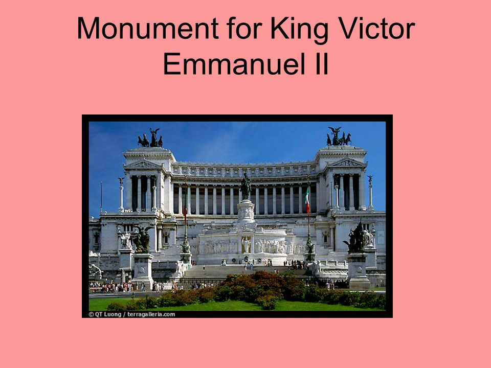 Italian Unification Garibaldi turned his conquests over to Piedmont, and in 1861 a new Kingdom of Italy was proclaimed. King Victor Emmanuel II, who h