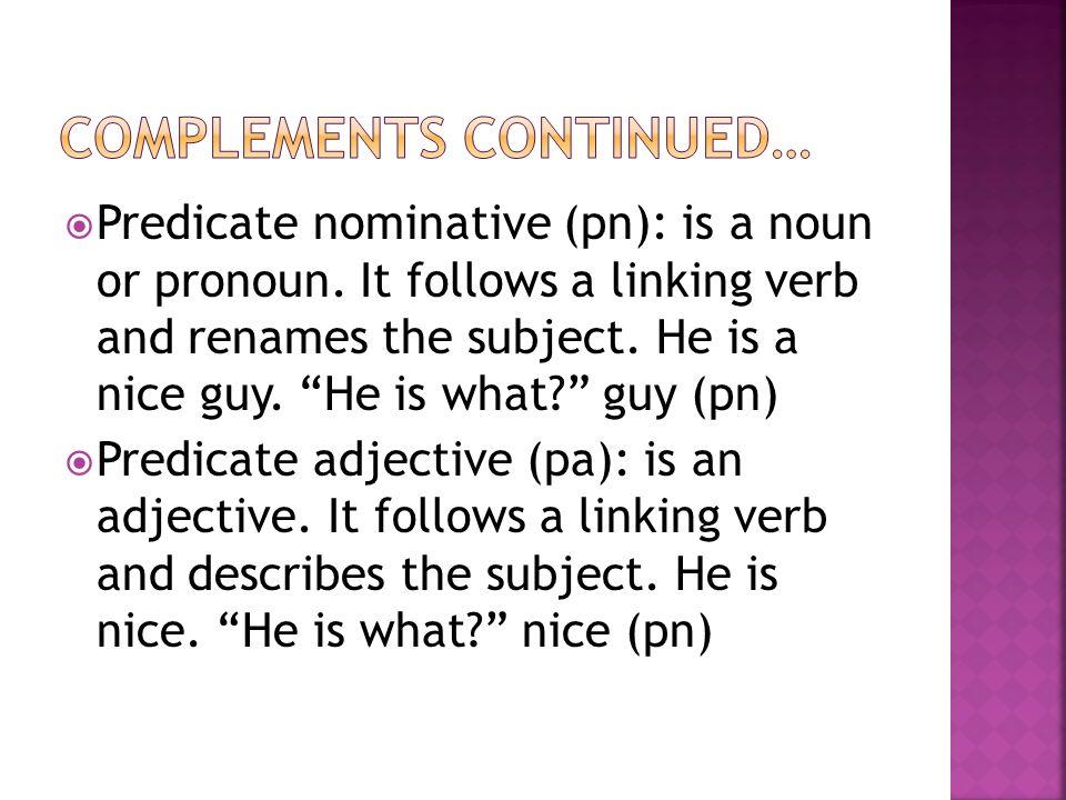 (app) Noun or pronoun that follows and renames another noun or pronoun. My son Beck likes trains.
