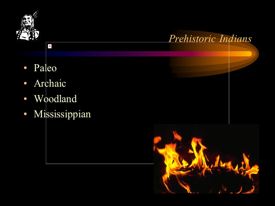 Prehistoric Indians Paleo Archaic Woodland Mississippian