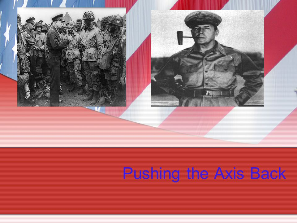 Pushing the Axis Back