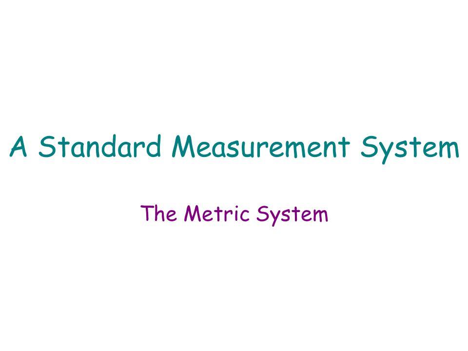 Measurement-A Common Language Length