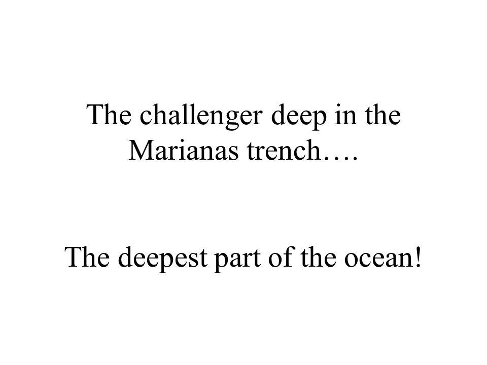 What is… 10,924 meters deep?