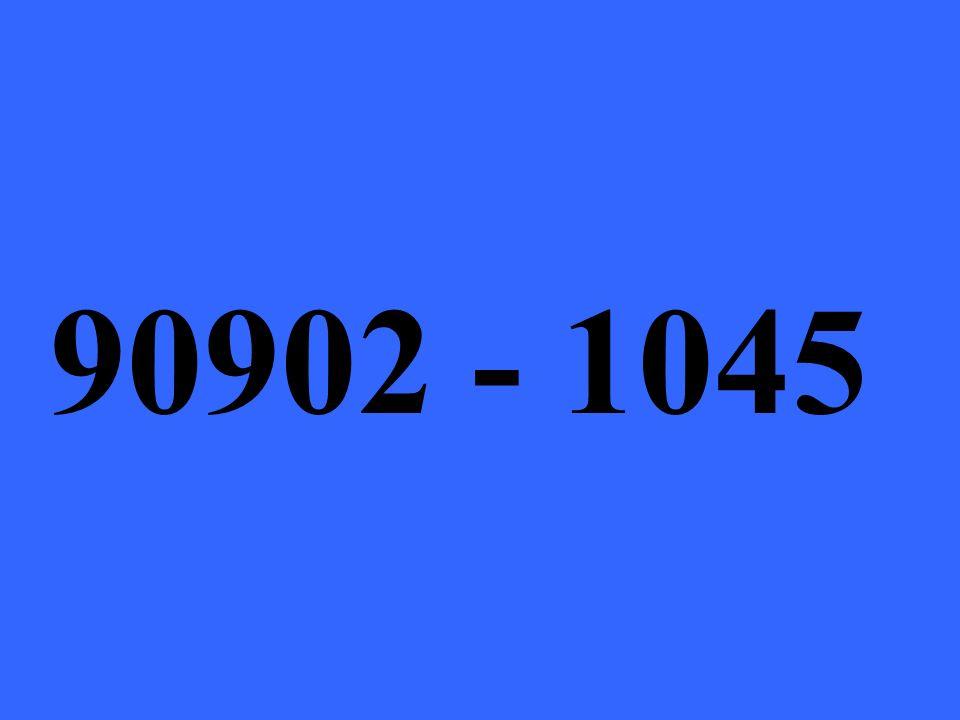 90902 - 1045