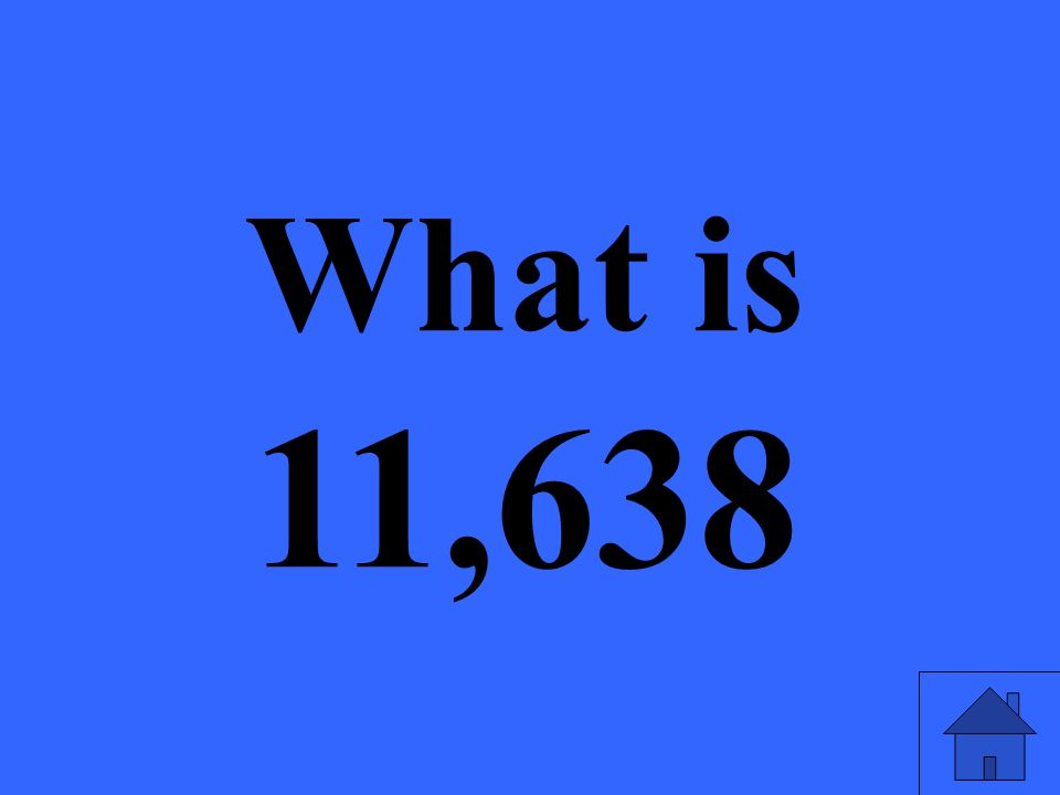 What is 11,638