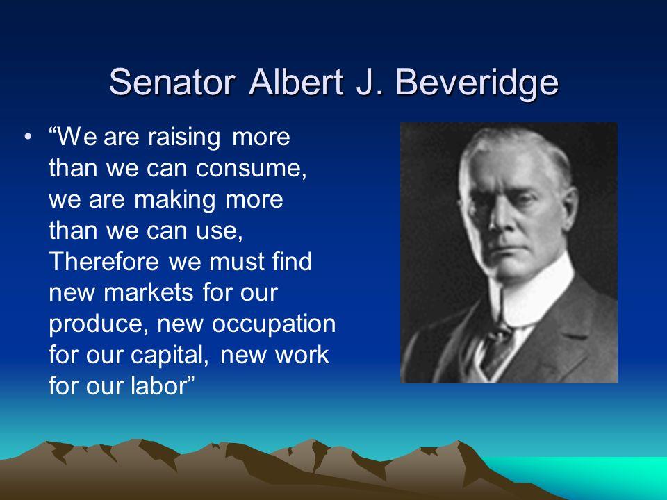 Senator Albert J.