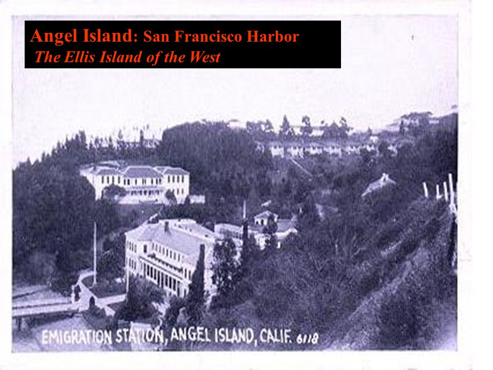 Angel Island : San Francisco Harbor The Ellis Island of the West