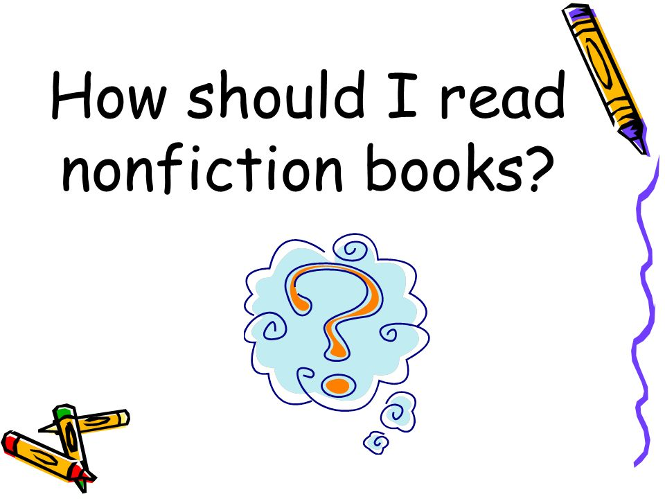 How should I read nonfiction books