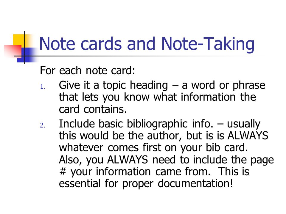 My MLA format essay requires note cards and bibliography cards. are they the same thing?