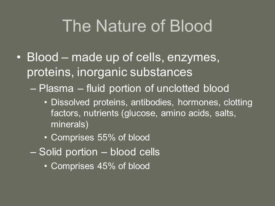 Types of Blood Cells Red blood cells – erythrocytes White blood cells – leukocytes Platelets – clotting factor