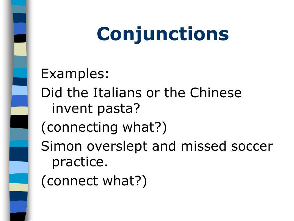 Conjunctions 2.