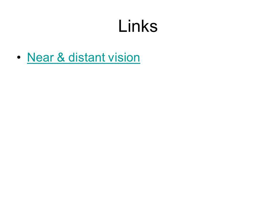 Links Near & distant vision