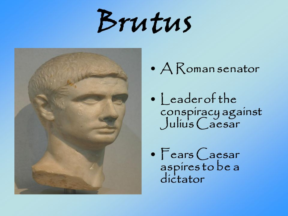 a description of the friendship between caesar and brutus The friendship and rivalry between caesar and brutus provides compelling reading each book in the emperor series causes readers to return to the previous novel, and ensures they also look forward hugely to the next.