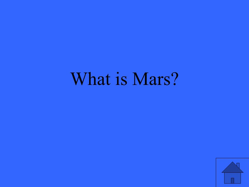 What is Mars