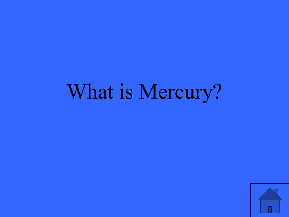What is Mercury