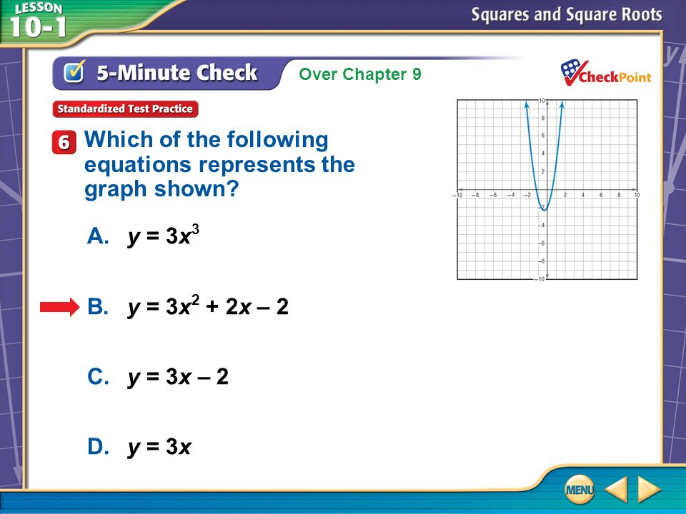 Example 5 Use Square Roots to Solve Problems 38.6Multiply.