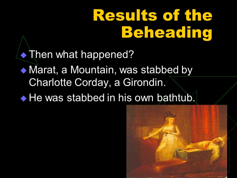 Results of the Beheading Then what happened.