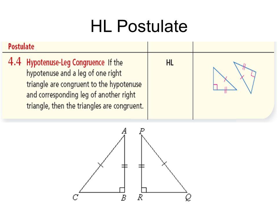 HL Postulate