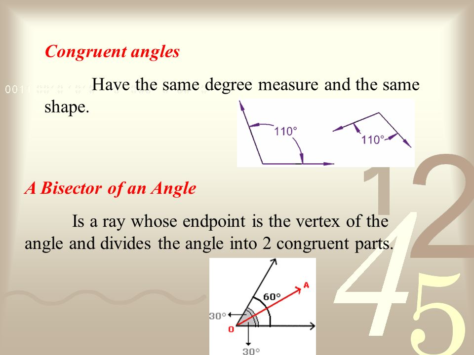 An Oblique Angle Is an angle whose measure is between 180<A<360 degrees. an angle that is not a right angle or any multiple of a right angle