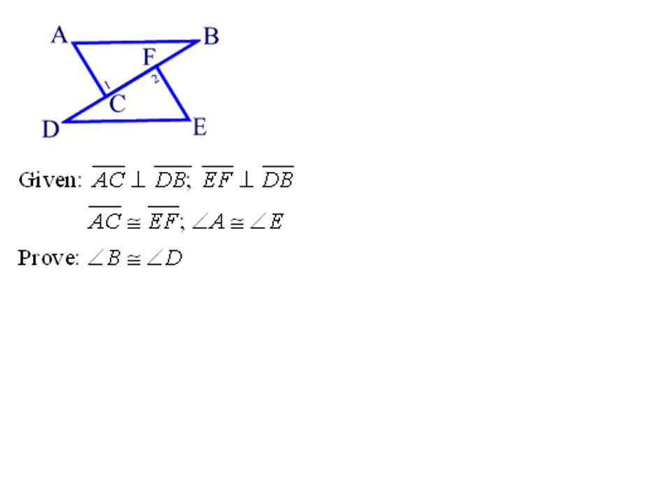 In geometry, CPCTC is the abbreviation of a theorem involving congruent triangles.