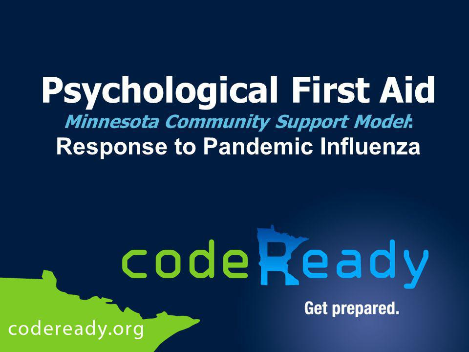 Who Should Utilize Psychological First Aid Principles.