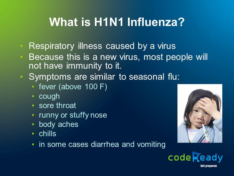 How does H1N1 Influenza spread.