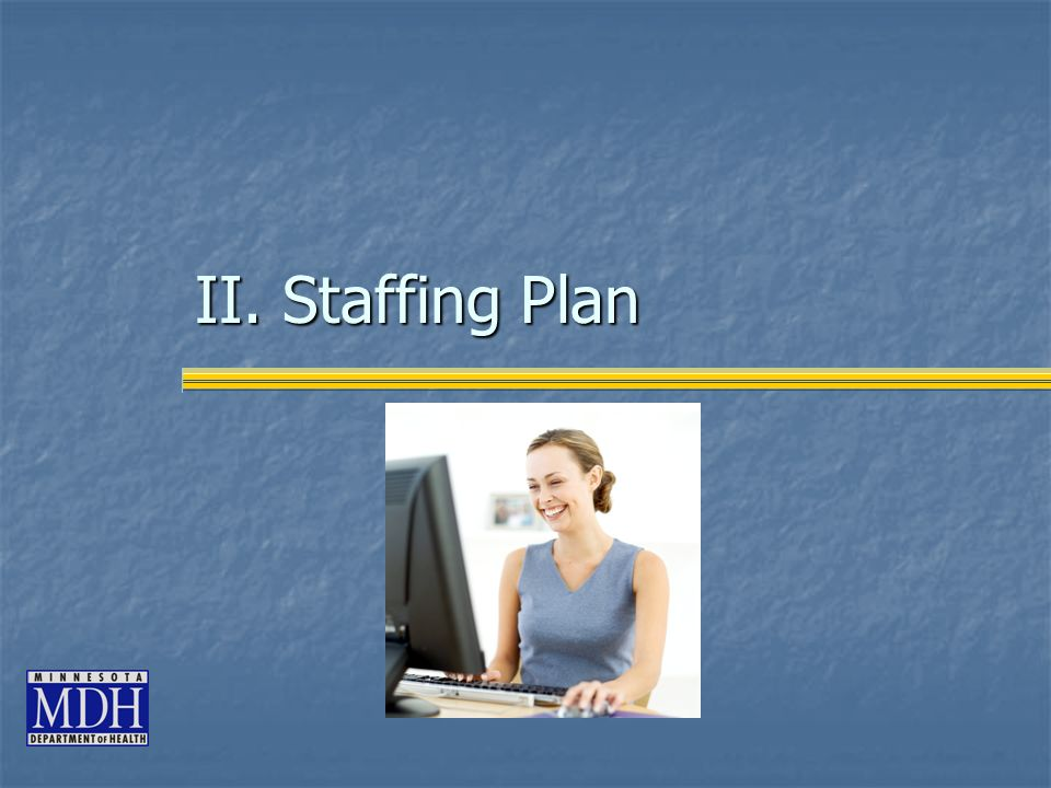 II. Staffing Plan